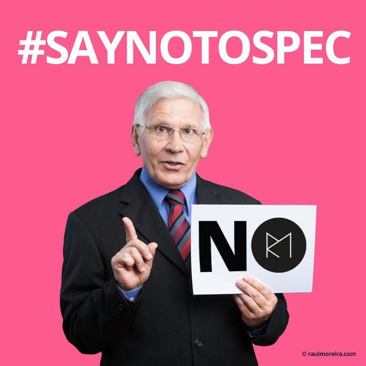 #saynotospec. Licitación creativa especulativa