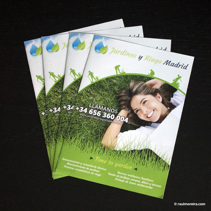 diseño publicitario en Madrid de folletos con precios