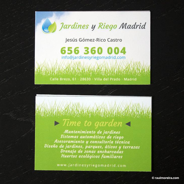 tarjetas y diseño publicitario en Madrid con precios