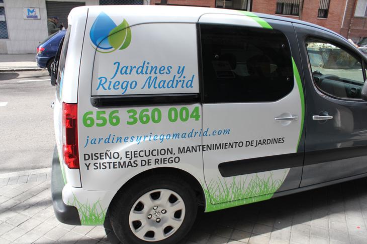 Vinilo furgoneta Peugeot Partner Tepee foto 3, diseño publicitario en Madrid