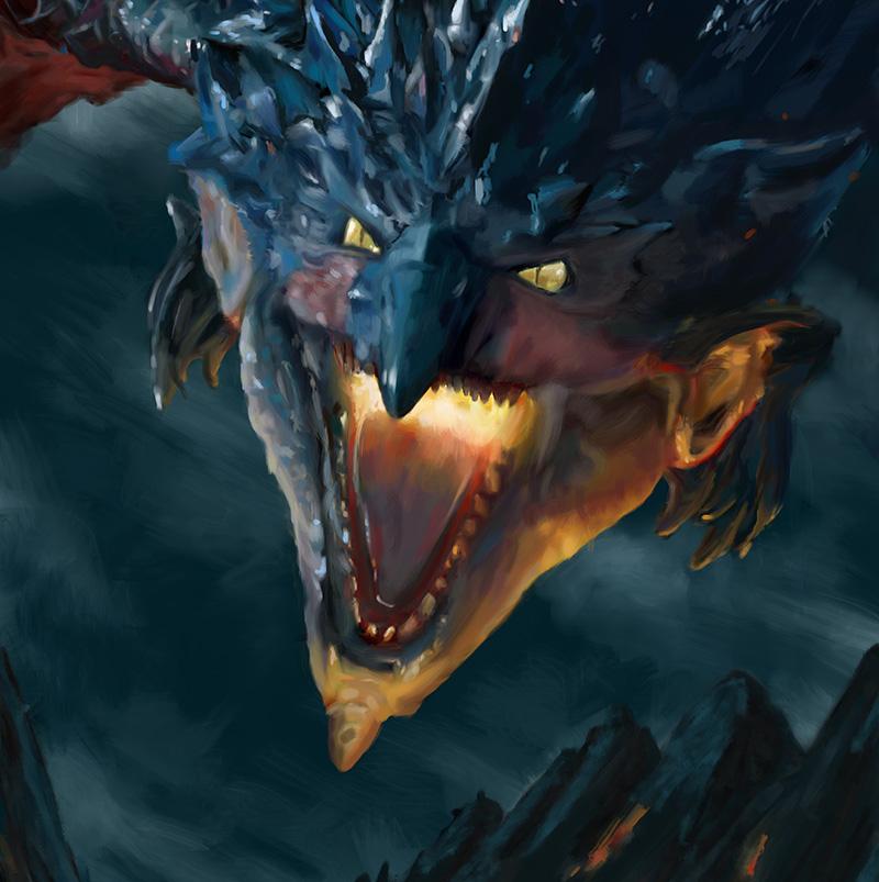 Ilustrador de dragones