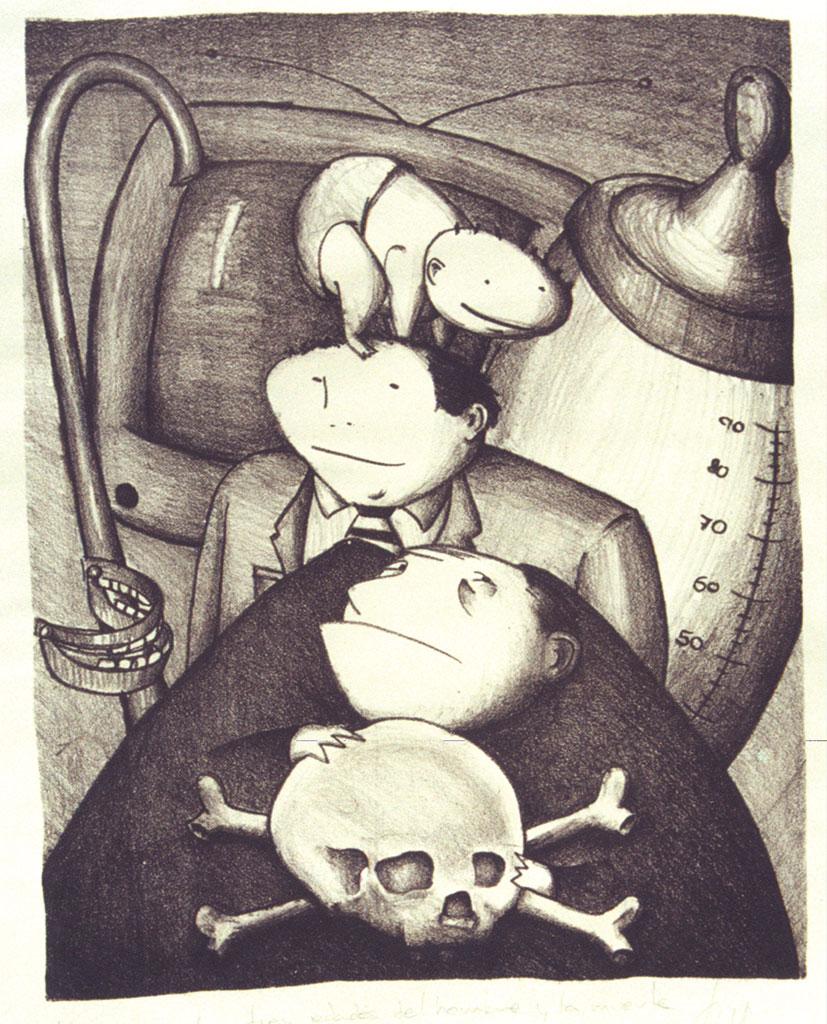 Las Edades del Hombre y La Muerte, venta de cuadros originales