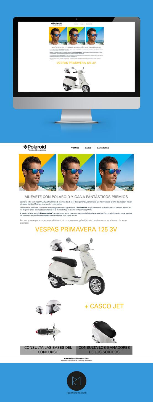 Muévete con Polaroid, paginas web profesionales Madrid