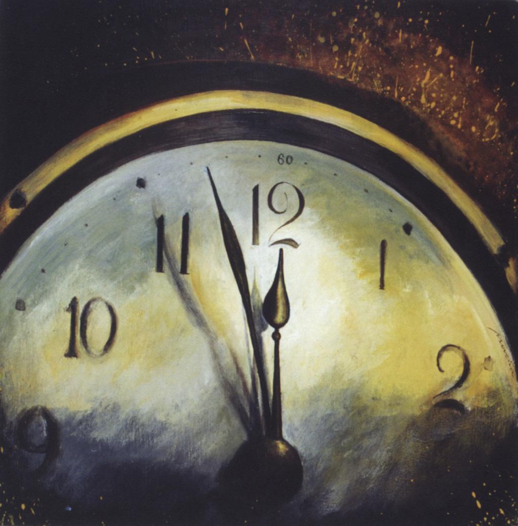 El Reloj - acrílico