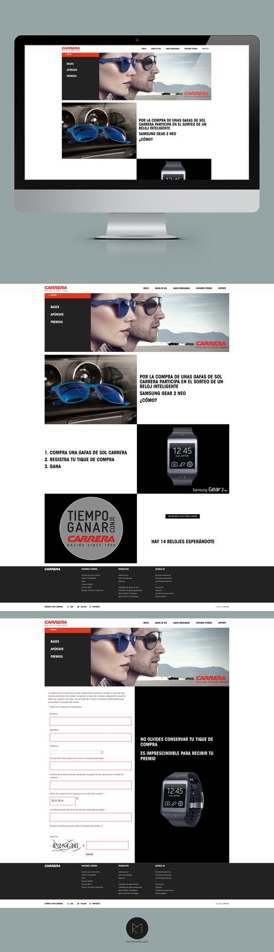 Tiempo de ganar con Carrera, empresa páginas web Madrid