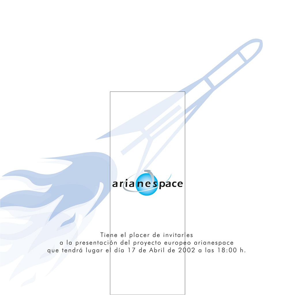 Arianespace - invitación