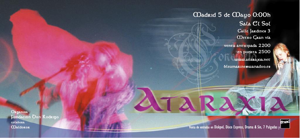 Ataraxia - flyer