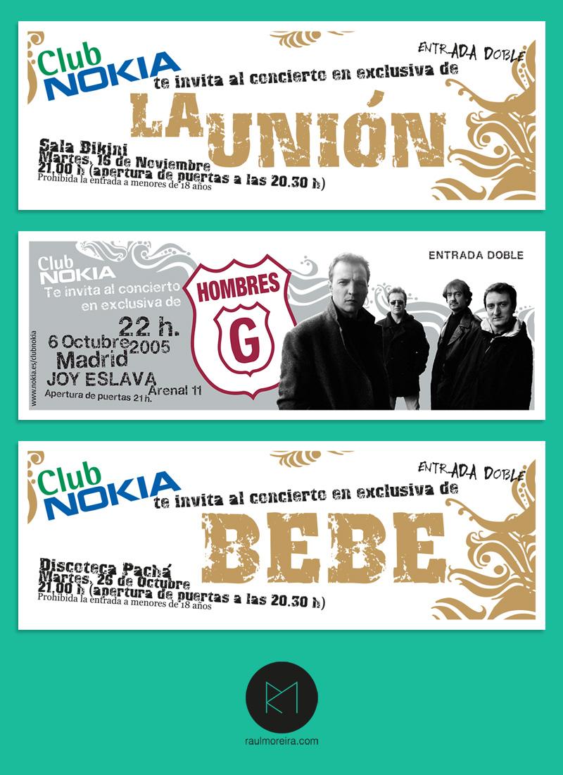 Club Nokia - conciertos