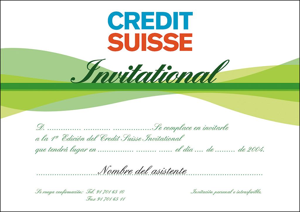 Credit Suisse - torneo