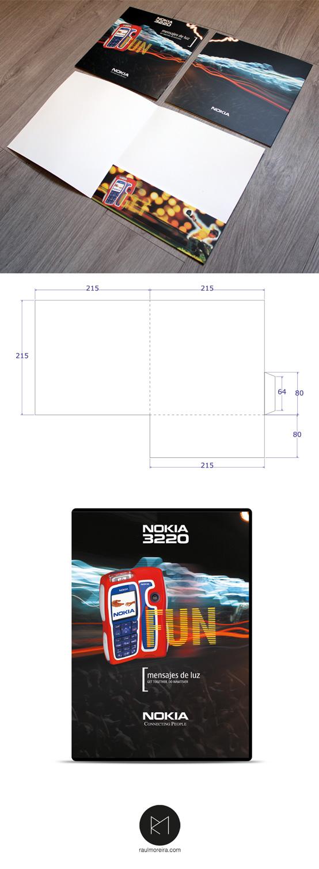 Nokia - carpeta y DVD