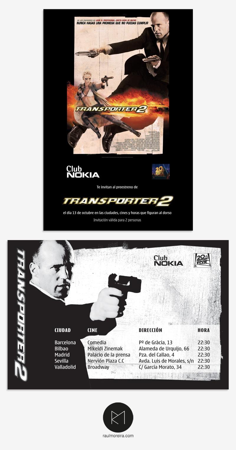 Transporter - pre estreno
