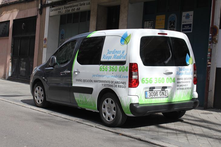 vinilado Peugeot Partner Tepee foto 7, diseño publicitario en Madrid