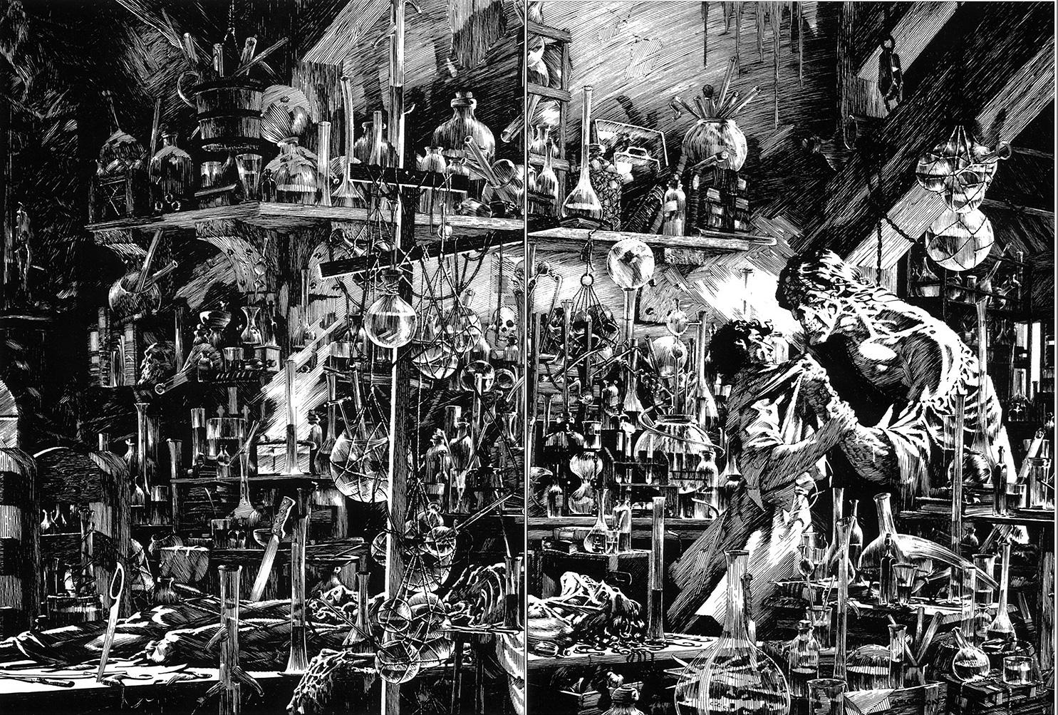 Bernie Wrightson Frankenstein 1