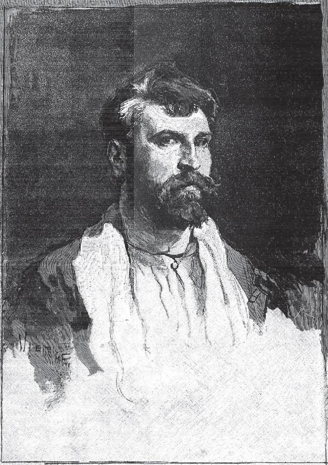 Autorretrato realizado con la mano izquierda