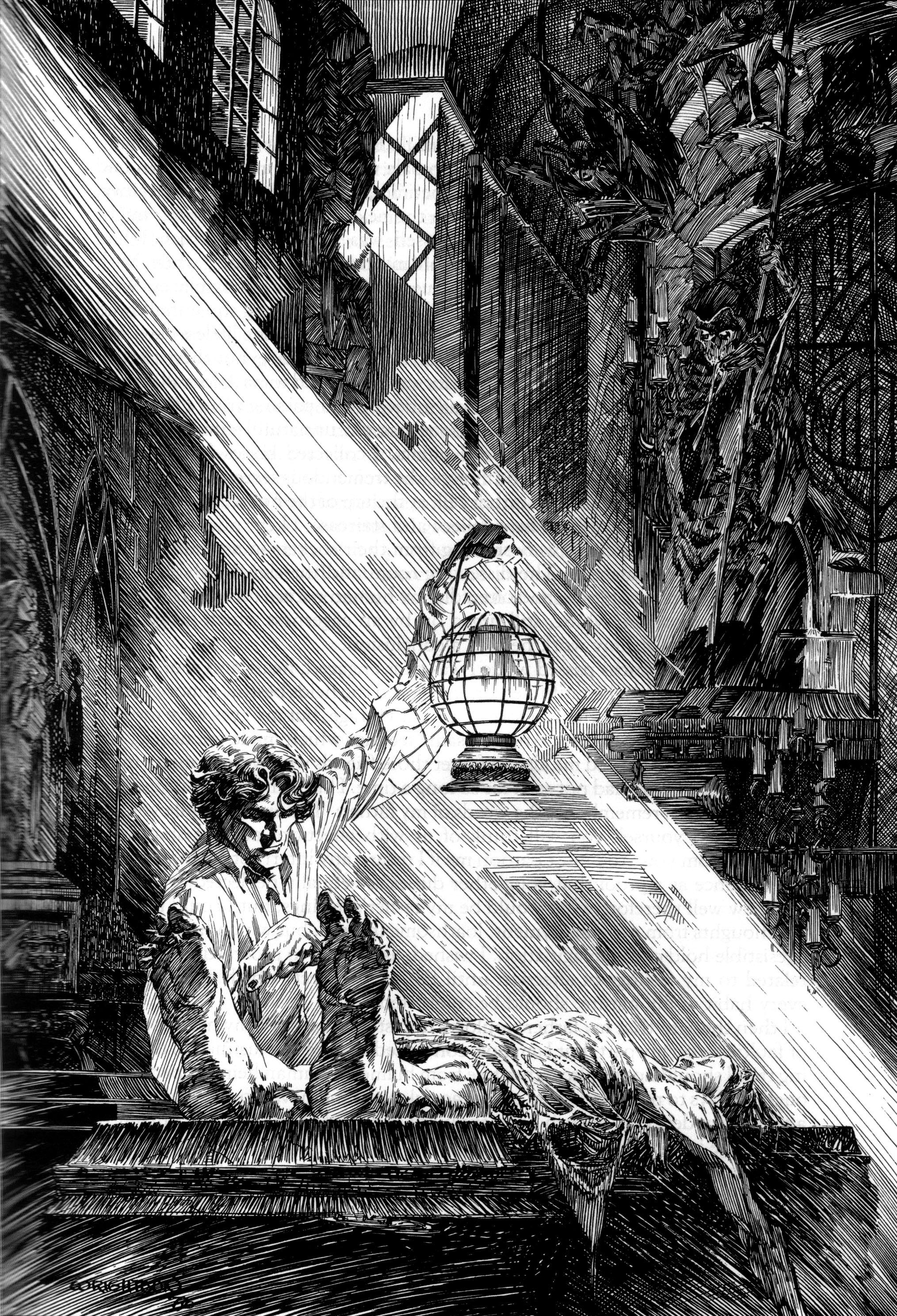 Bernie Wrightson Frankenstein 4