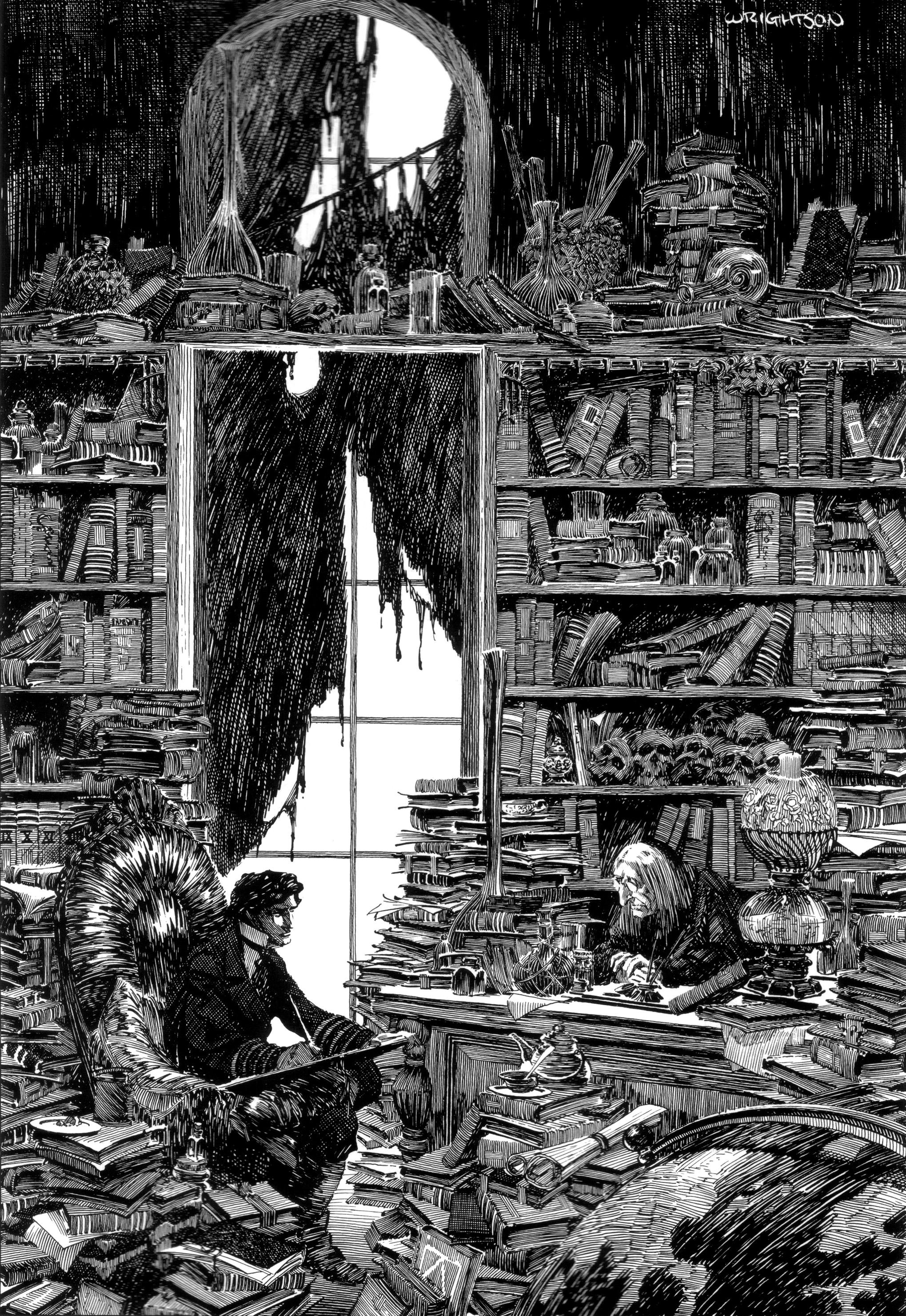 Bernie Wrightson Frankenstein 6