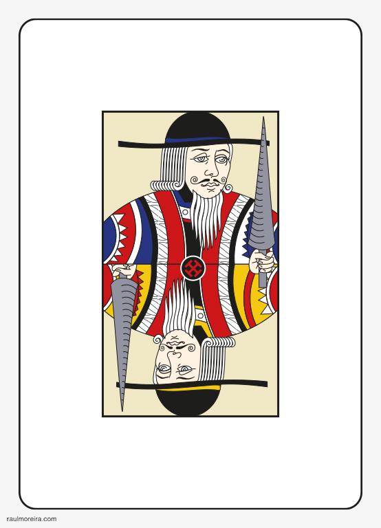 Pierre Menard Autor del Quijote. Ilustración Raúl Moreira. Ilustrador vectorial freelance en Madrid. Ilustrador autónomo para agencias, estudios y editoriales.