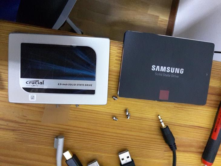 SSD en un MacBookPro de mediados de 2011