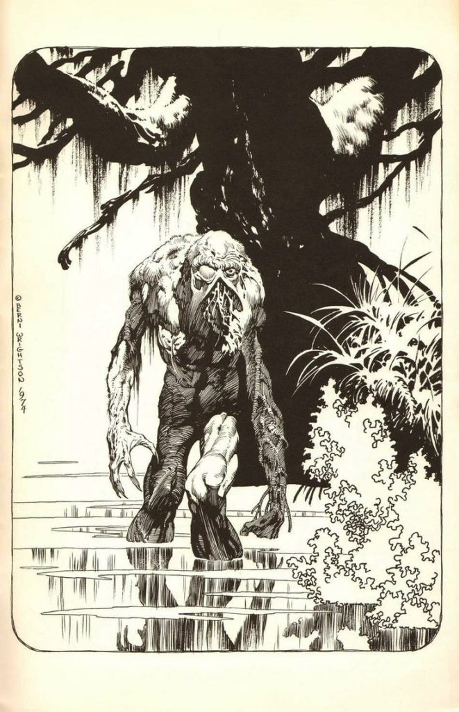 The Swamp Thing por Bernie Wrightson
