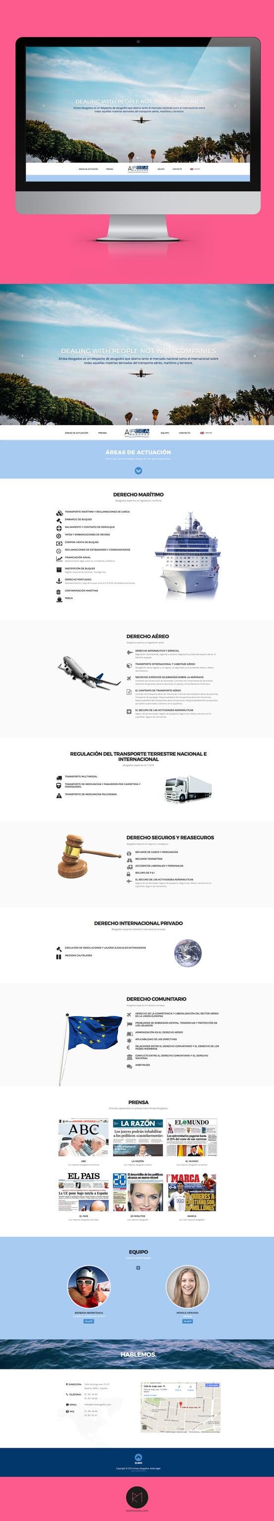 diseñador paginas web Madrid para empresas en html