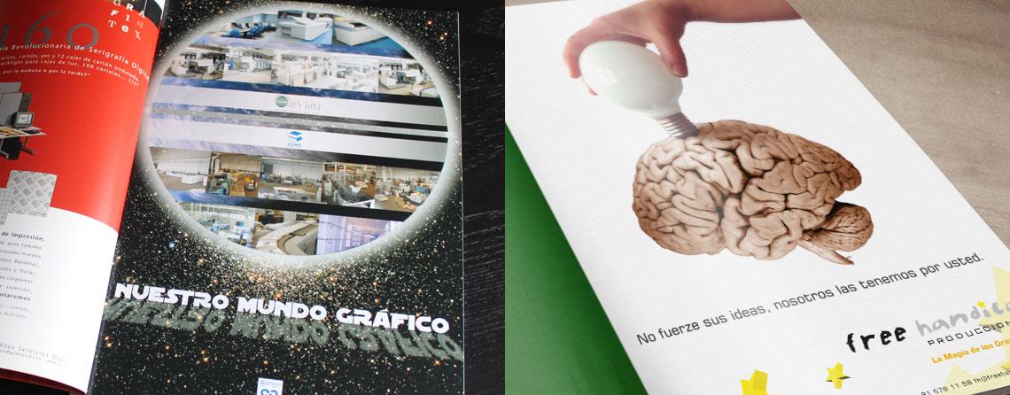 Diseñador gráfico de anuncios en Madrid