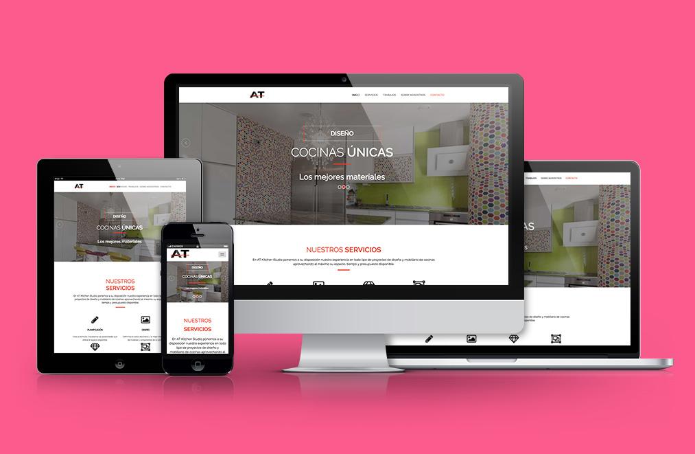 Página web responsive Madrid