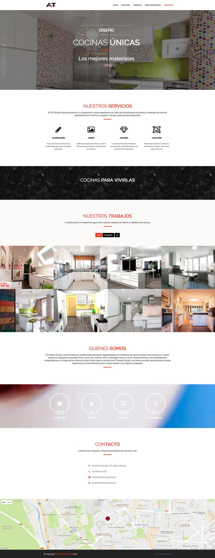 Página web responsive ejemplo