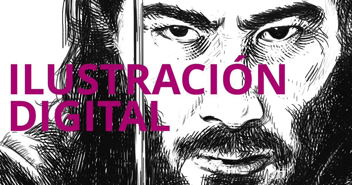 Ilustración digital portada