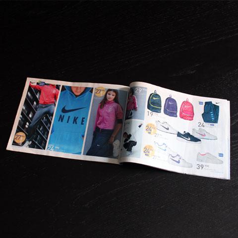 diseño de catálogo de productos y revista