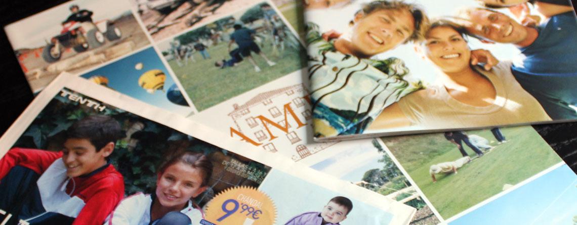 Diseño de catálogos de empresa, dossieres y folletos de produc
