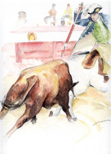 Dibujo, Tauromaquia 2, cuadros baratos en Madrid