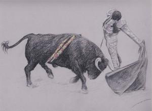 Dibujo, Tauromaquia 4, cuadros en venta