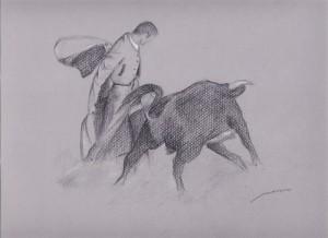 Dibujo, Tauromaquia 5, dónde comprar cuadros en Madrid