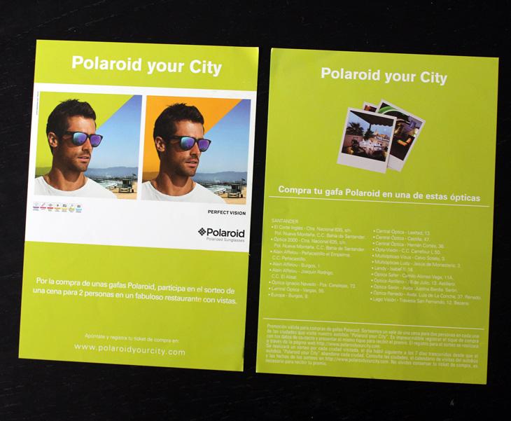 diseño de flyer para promoción en Madrid