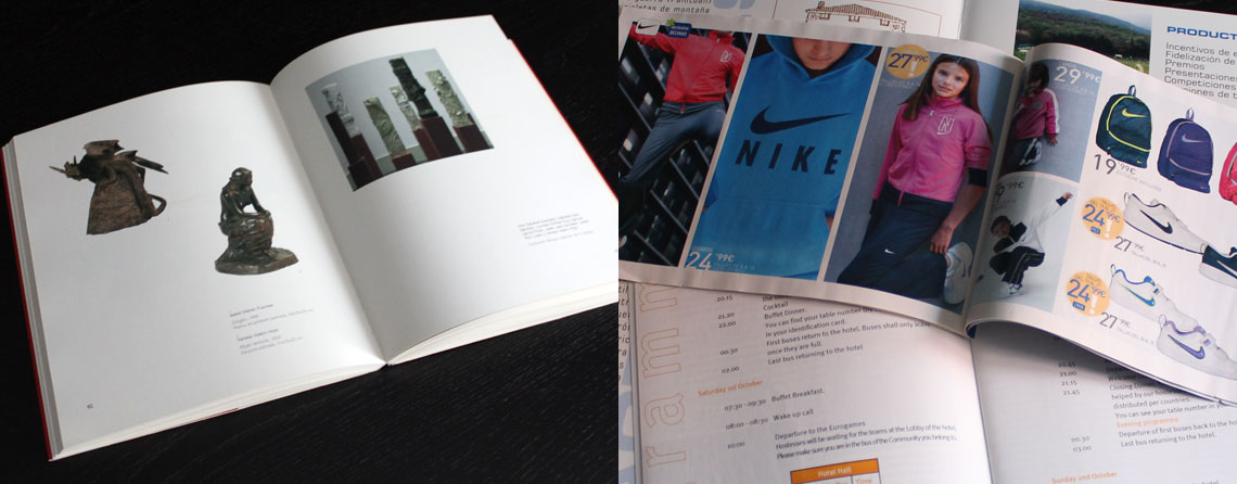 Diseño de libros, revistas y periodicos