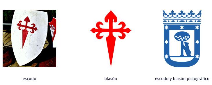 ejemplos de escudo y blasón