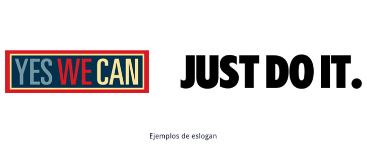 ejemplos de eslogan
