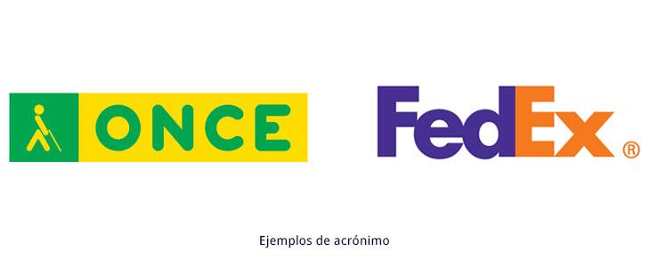 ejemplos de logotipos acrónimos