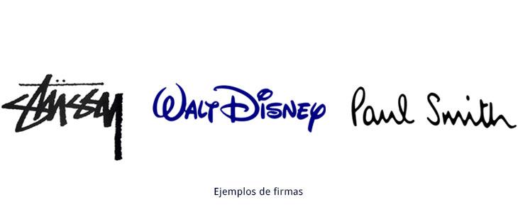 ejemplos de logotipos firma