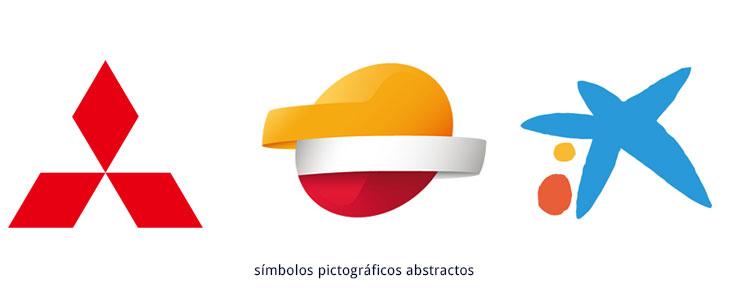 ejemplos de símbolos pictográficos abstractos