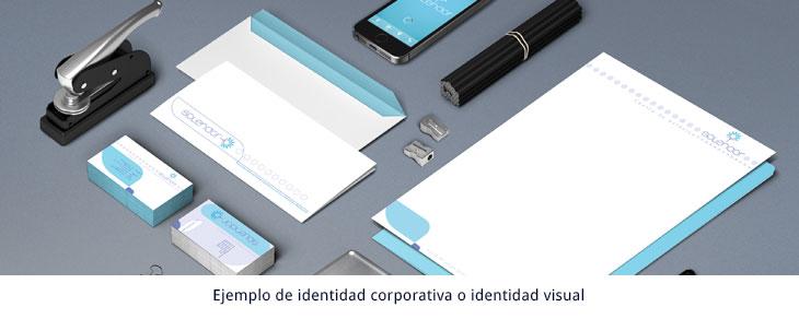 ejemplo de identidad corporativa