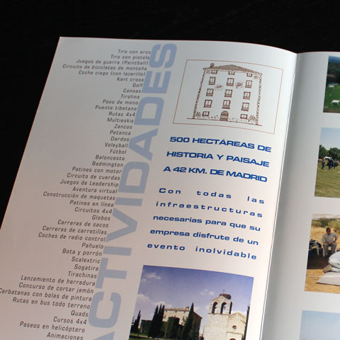 maquetación de catálogos y folletos de productos