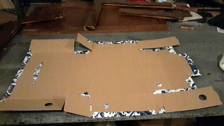Como se forran cajas de cartón