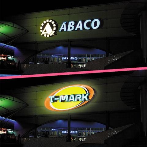 Diseño publicidad exterior con fotomontajes previo