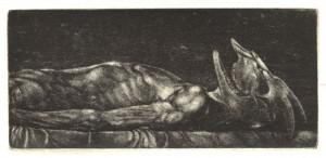 Grabado, Cabrón Muerto, venta cuadros