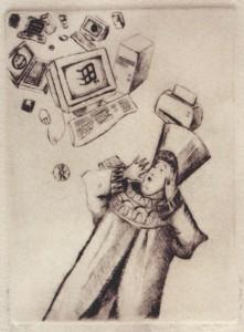 Grabado, Fin Milenio, venta de cuadros al óleo