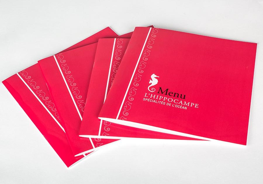 diseñador de menú catálogo para hoteles y restaurantes