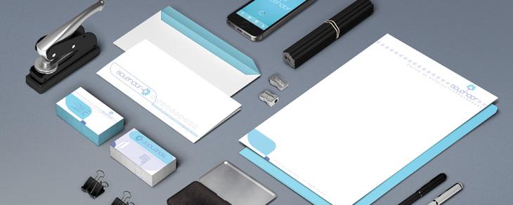 Diseño manual identidad corporativa ejemplos