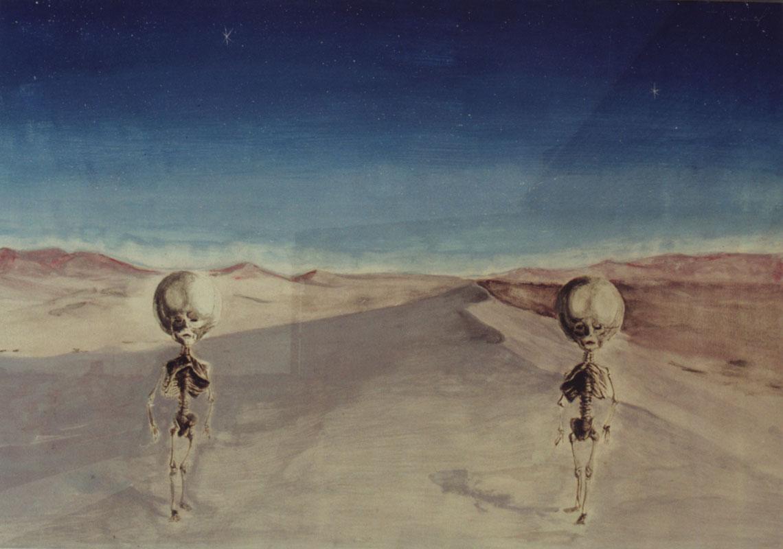 ilustracin gouache gemelos hidrocfalos venta de cuadros originales