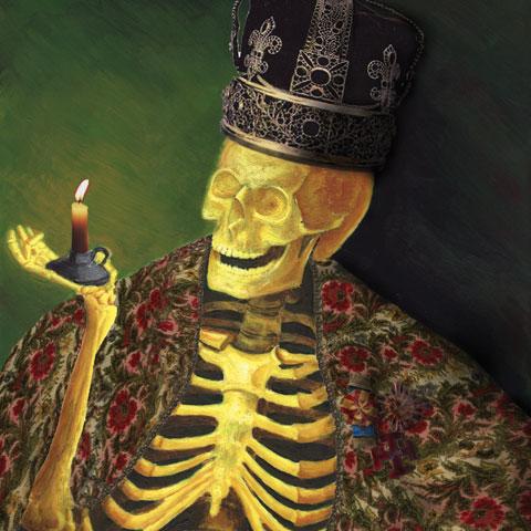 ilustrador corporativa fantástica dark goth